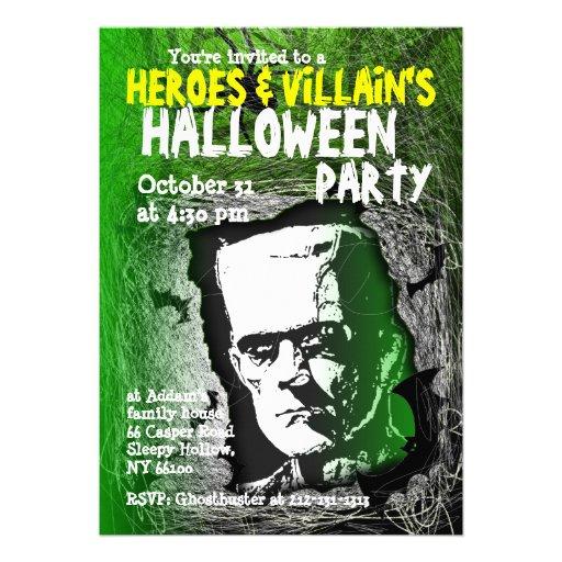 De Uitnodiging van de Partij van Halloween van de