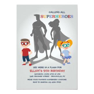 De Uitnodiging van de Partij van Superheroes
