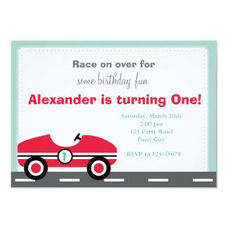 De Uitnodiging van de raceauto (Rit op Verjaardag