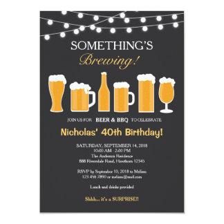 De Uitnodiging van de Verjaardag van het bier,
