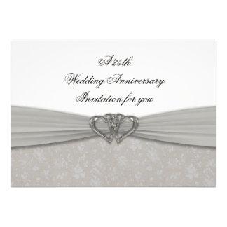 De Uitnodiging van de Verjaardag van het Huwelijk