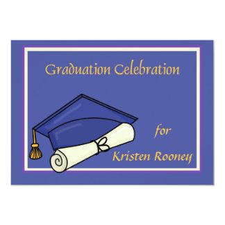 De Uitnodiging van de Viering van afstuderen
