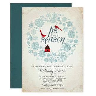 De Uitnodiging van december, tis het seizoen