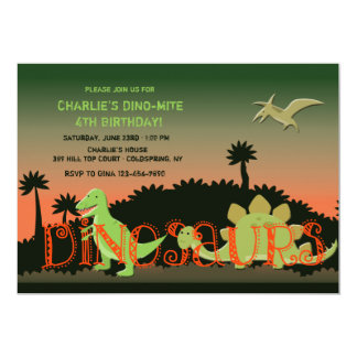 De Uitnodiging van dinosaurussen