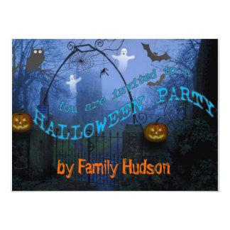 De uitnodiging van Halloween