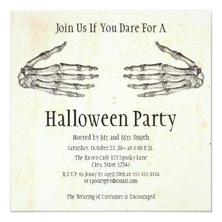 De Uitnodiging van Halloween van de Handen van het