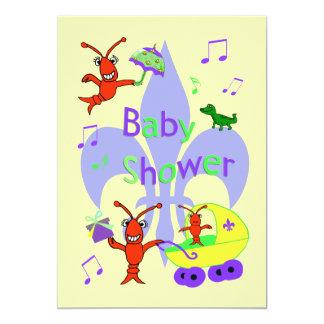 De Uitnodiging van het Baby shower van Cajun