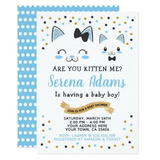 De Uitnodiging van het Baby shower van de Jongens