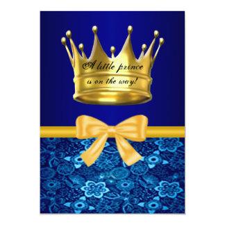 De Uitnodiging van het Baby shower van de Kroon