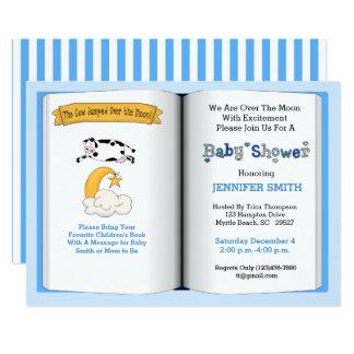 De Uitnodiging van het Baby shower van het Thema