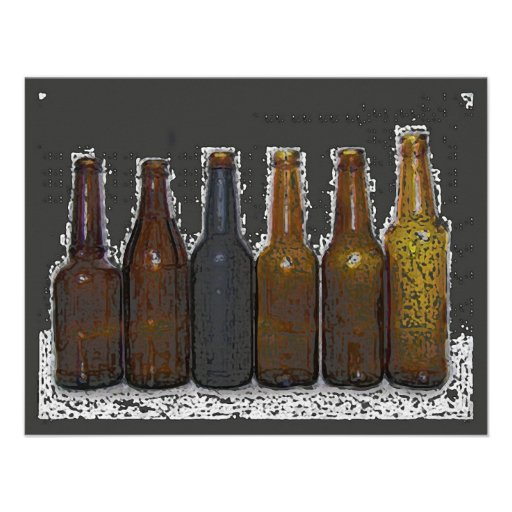 De Uitnodiging van het bier - de Aankondigingen va