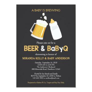 De Uitnodiging van het bier & van het Baby shower