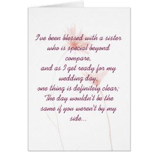 De Uitnodiging van het eerste bruidsmeisje