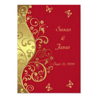 De Uitnodiging van het huwelijk--Gouden