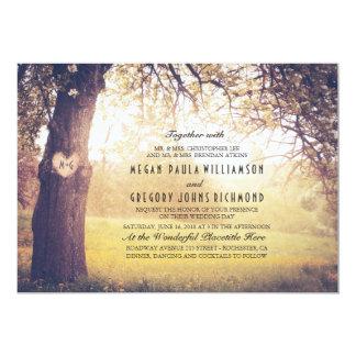 De Uitnodiging van het Huwelijk van de boom