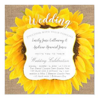 De Uitnodiging van het Huwelijk van de Typografie Magnetische Kaart