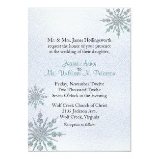 De Uitnodiging van het Huwelijk van de Winter van
