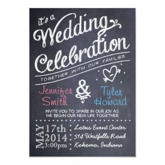 De Uitnodiging van het Huwelijk van het bord