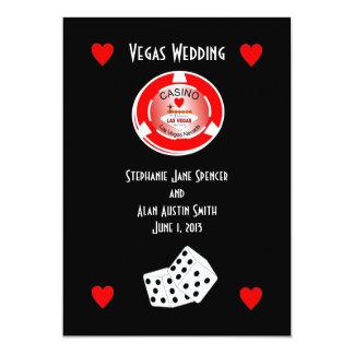 De Uitnodiging van het Huwelijk van het casino