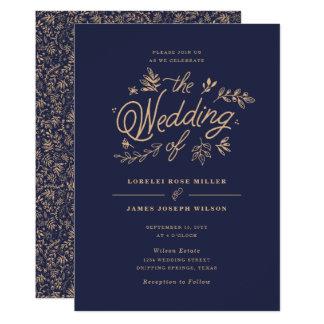 De Uitnodiging van het Huwelijk van Wildflower