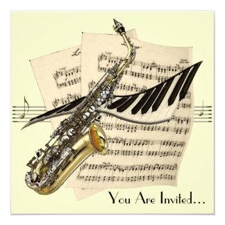 De Uitnodiging van het Ontwerp van de Muziek van