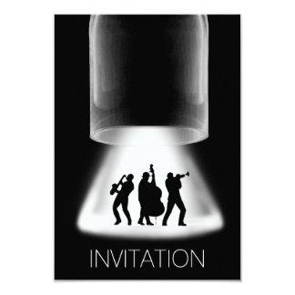 De Uitnodiging van het Overleg van de Jazz van het