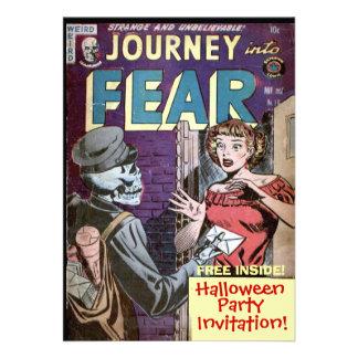 De Uitnodiging van het Stripverhaal van Halloween