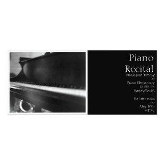 De Uitnodiging van het Toetsenbord van de piano
