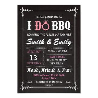 De Uitnodiging van I Do BBQ. De Uitnodiging van de