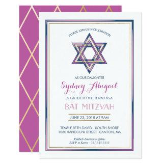 De Uitnodiging van Mitzvah van de knuppel -