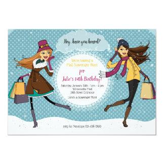 De Uitnodiging van shopping spree