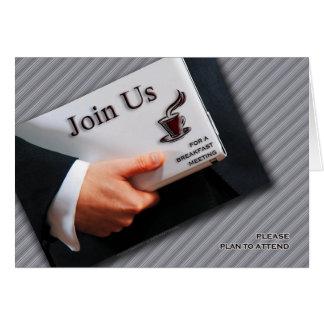 De Uitnodiging Vergadering van de bedrijfs van het Wenskaart
