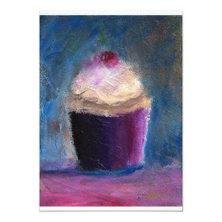 De uitnodigingen van Cupcake