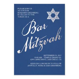 De Uitnodigingen van de bar mitswa | Elegante
