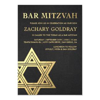 De Uitnodigingen van de bar mitswa | Gouden Ster