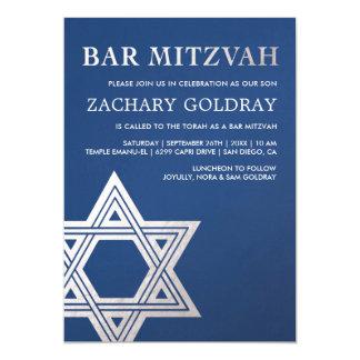 De Uitnodigingen van de bar mitswa | Zilveren Ster