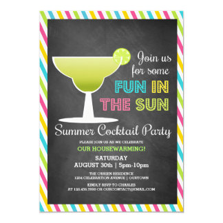 De Uitnodigingen van de Cocktail party van de
