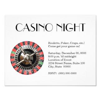 De Uitnodigingen van de Nacht van het casino