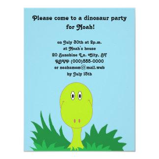 """De Uitnodigingen van de Partij van de """"dinosaurus"""""""