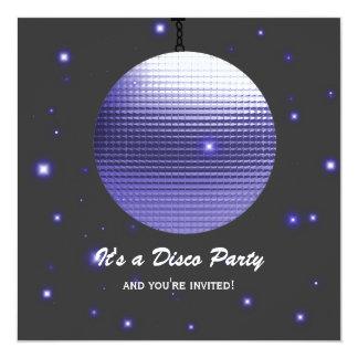 De Uitnodigingen van de Partij van de disco