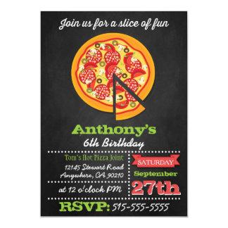 De Uitnodigingen van de Partij van de Pizza van