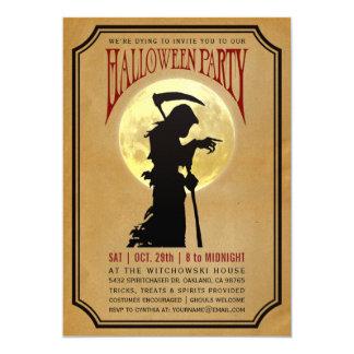 De Uitnodigingen van de Partij van Halloween |
