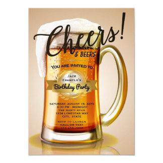 De Uitnodigingen van de Verjaardag van het bier