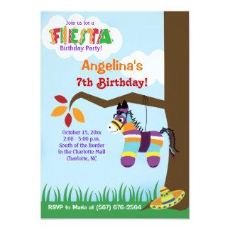 De Uitnodigingen van de Verjaardag van Pinata