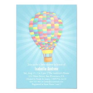 De Uitnodigingen van het Baby shower van de Ballon