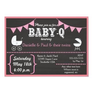 De Uitnodigingen van het Baby shower van het Bord