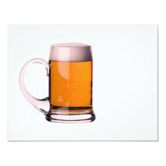 De Uitnodigingen van het bier - Bier Announcemets 10,8x13,9 Uitnodiging Kaart