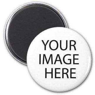 De uitnodigingen van het de fotobaby shower van de ronde magneet 5,7 cm