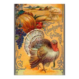 De Uitnodigingen van het Diner van de Thanksgiving