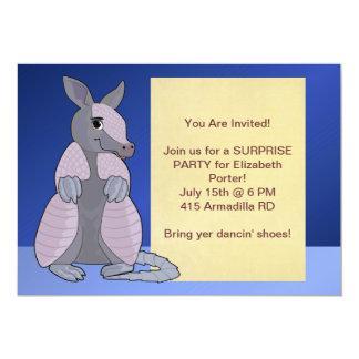 De Uitnodigingen van het gordeldier